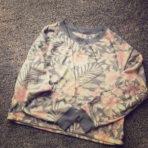 American Eagle Sweatshirt Floral